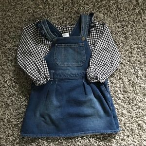 Set of Okie Dokie Top and Overall